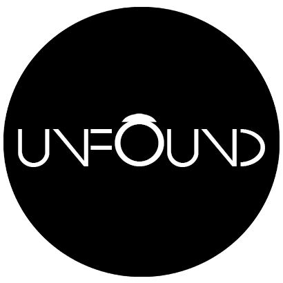 UnFound Logo - black