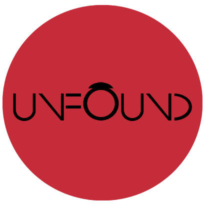 UnFound Logo - red