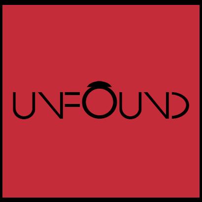 UnFound Logo - red